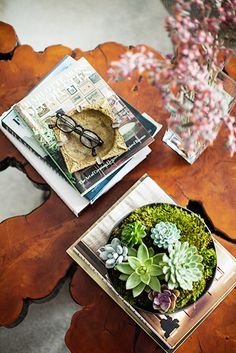 Designer Crush: Benjamin Vandiver #interiordesign #decor #coffeetable #wood