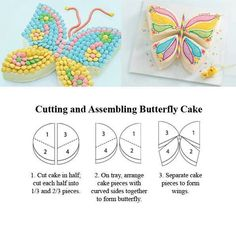 Butterfly Cake Tutorial for a Child's Birthday Party