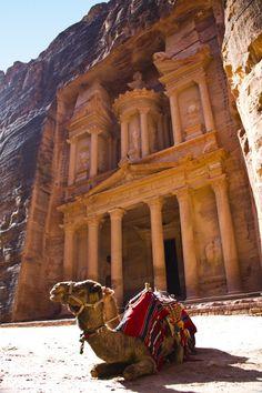 Petra in Ma'an, Jordan.
