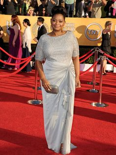 Octavia Spencer in gowns