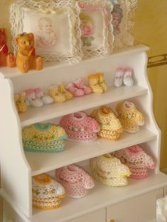 Dollhouse Miniature Baby Cloth 112 Scale Baby by ANABELAMINIATURES, €15.00