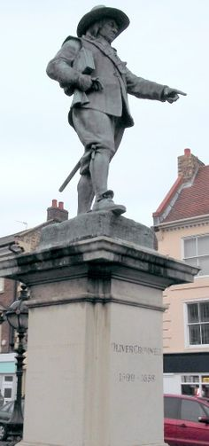 One Of Only Four Remaining Statues Of Oliver Cromwell