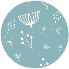 Charley Harper for Birch Fabrics Organic, Twigs Pool