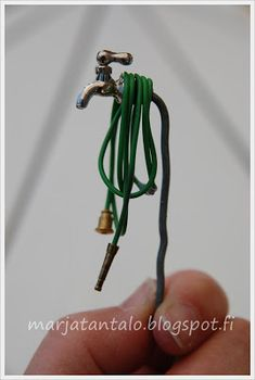 How made: hose pipe  and hose