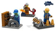 We've got a peek at the new LEGO Minifig designs coming out, featuring some very cool female scientists. Or as we like to think of them: scientists.