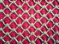 Ravelry: Diamond Quilting Dishcloth pattern by Bich Lan