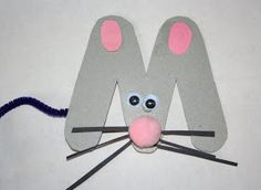 Our Country Road: M is for Mouse Craft