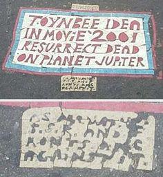 Toynbee tiles - Wikipedia, the free encyclopedia