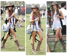 Festival Attire!!..I have the boots and the hat!!..now all I need is the legs and bigger sunglasses to hide the wrinkles and then we are good to go!!..I CAN DO THIS!!! ;-)