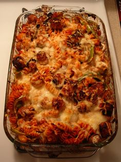 vegetarian Italian-Casserole