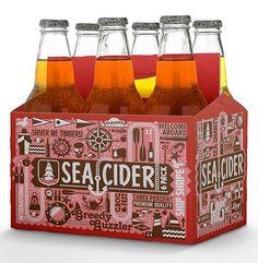 Sea Cider Package Design