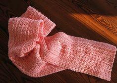 Big Girl Scarf crochet pattern