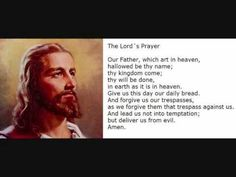 """The Lord's Prayer (Our Father)"" - Traditional Version"