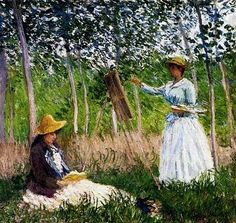 It's About Time: Reading. Claude Monet (French artist, 1840-1926)