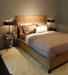 Contemporary-Greige-Warm-Bedroom.jpg wall color, warm bedroom