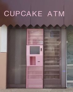 Sprinkles debuts a cupcake ATM in Dallas, Texas, where you can withdraw a cupcake 24 hours a day