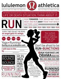 run, run, run...oh i love lululemon!!