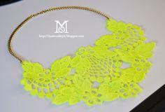 diy ideas, statement necklaces, diy fashion, diy tutorial, clothing alterations, diy jewelry, lace necklac, diy gifts, bib necklaces