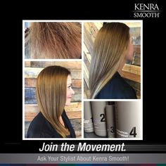 Lovely #KenraSmooth transformation by @noelle_in17 on Instagram!