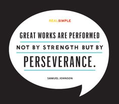 Always Persevere!