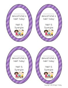 Notes Home for 7 Habits of Happy Kids - Little Lovely Leaders - TeachersPayTeachers.com