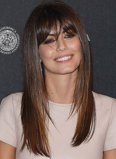 Sensational Long Layered Hairstyles With Blunt Bangs for Women to Rock in 2019 - #2019 #Bangs #Blunt #For #Hairstyles #In #Layered #Long #Rock #Sensational #To #with #Women