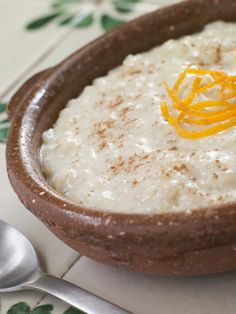 Cinnamon, Orange and Raisin Rice Pudding | Amazing Mexican Recipes #dessert #pudding #recipes