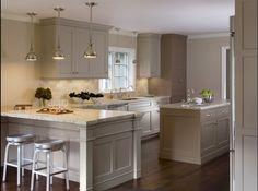 gray #kitchen #paint