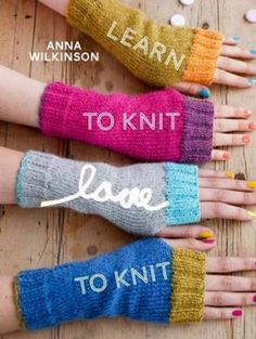 Learn to Knit, Love to Knit @Erin B Geneva I would buy these for the tasting room!