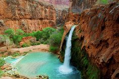 Must hike to Havasu Falls if I ever make it to the Grand Canyon :)