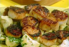 Sea Scallops with Vermouth from FoodNetwork.com