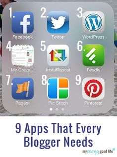 9 Apps That Every Blogger Needs