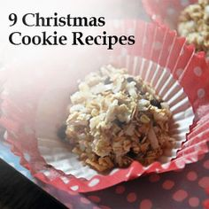 9 Christmas Cookie Recipes