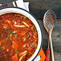 Vegetable Soup Chunky