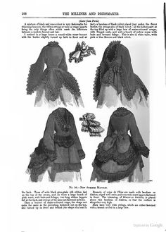 New summer mantles (light jackets), April 1870, The Milliner and Dressmaker