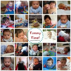 Terrific tummy time positions from @yourkidsot.