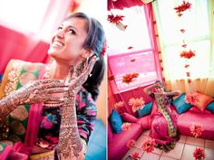 4 henna, outfits, mehndi, indian weddings, northern california, mendhi parti, mendhi party, desi girl, color outfit