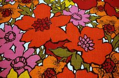 Fabric by the Yard Cotton Boho Retro Hippie by EvelynnsAlcove, $12.00