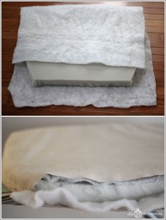 Lewis & Sheron DIY tufted seat cushion tutorial. Perfect to recreate my seat cushions on my wicker love seat!