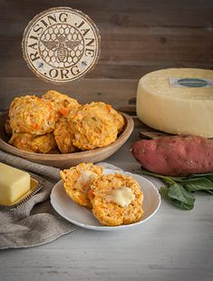Sweet Potato, Cheddar & Sage Biscuits: Prep Time: 20 Minutes, Plus 15 Minutes Cooling Time Cook Time: 1 Hour, 30 Minutes Makes: 10 Biscuits