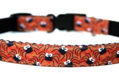 "Halloween Dog Collar 5/8"" Small Dog Halloween Collar"