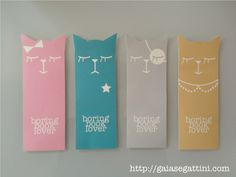 Printable kitty shaped bookmarks
