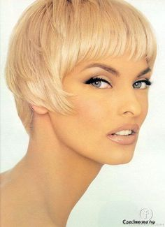 Linda Evangelista.  The brows.  The eye makeup.  I'm in love.