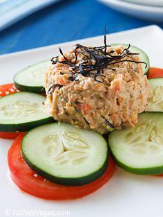 "Vegan ""tuna salad"". perfect for light summer dinners!"