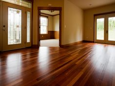 Hardwood Floor Care: Vacuum + Damp Mop with Tea + Fill in Scratches with Brown Crayon