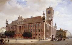 Eduard Gaertner, 'City Hall at Thorn,' 1848, National Gallery of Art, Washington D.C.