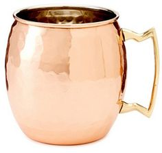 The Moscow Mule Hammered Copper #want #decor #love