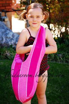 Towel Beach Bag Tutorial