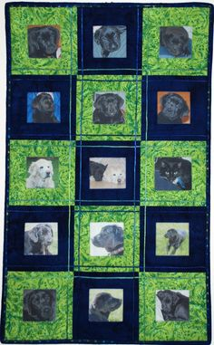 Photo Quilted Wall Hanging by For Comfort on Etsy