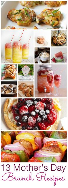 13 Recipes that are perfect for a Mother's Day brunch via @Deidre